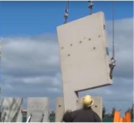 Concrete Panel Rotation