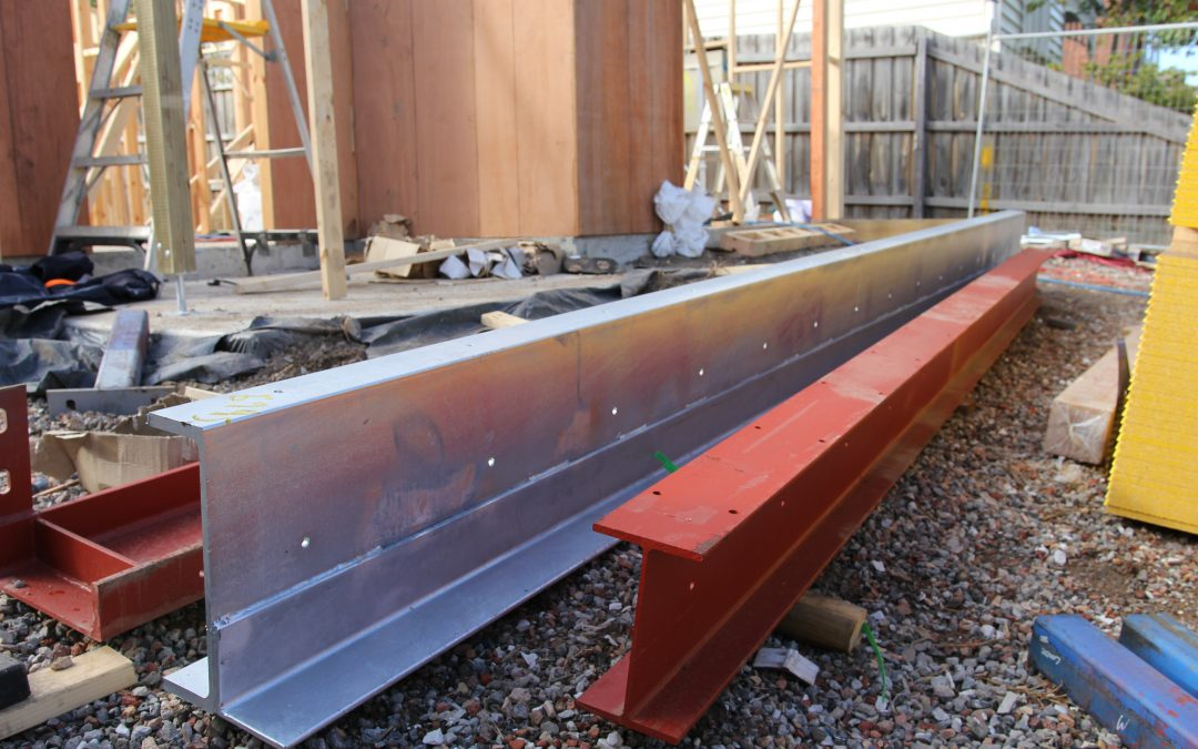 Heavy lifting steel structure beams