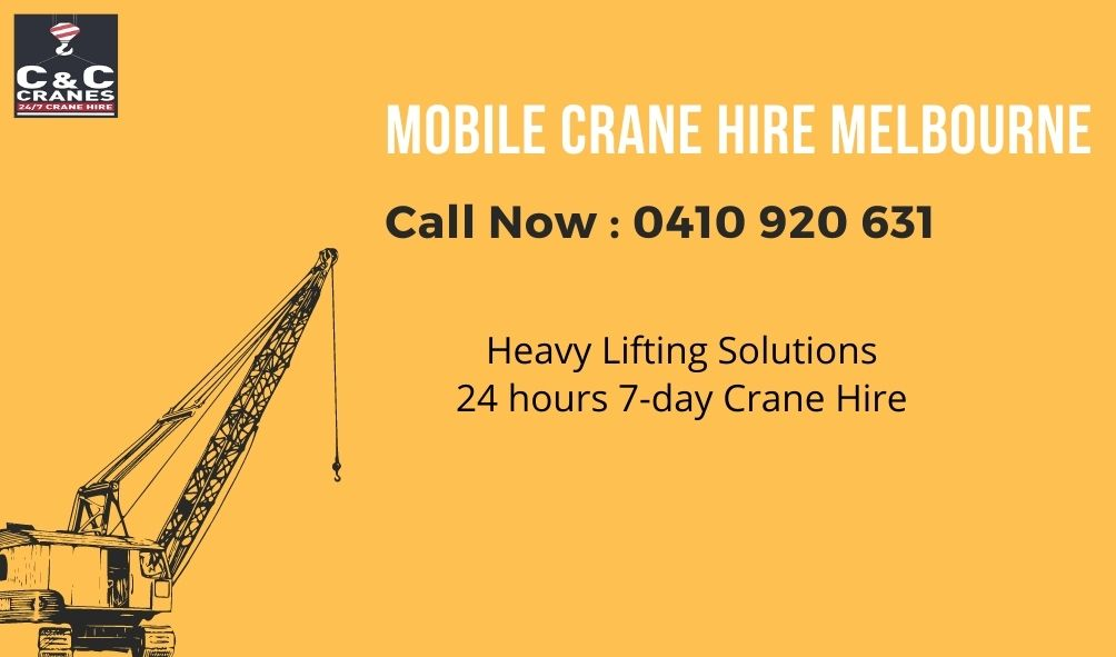 5 Pro tips to hire the best mobile crane in Melbourne